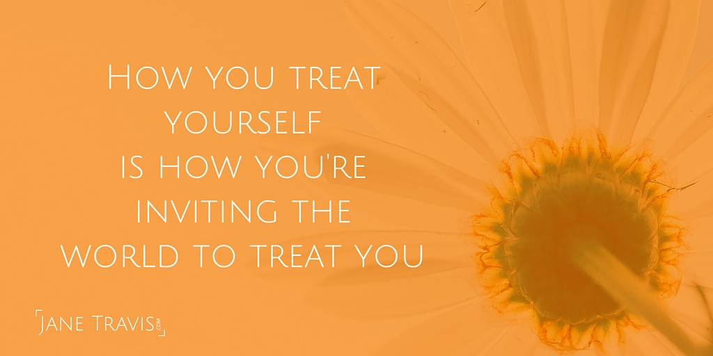 Self care quote - Jane Travis
