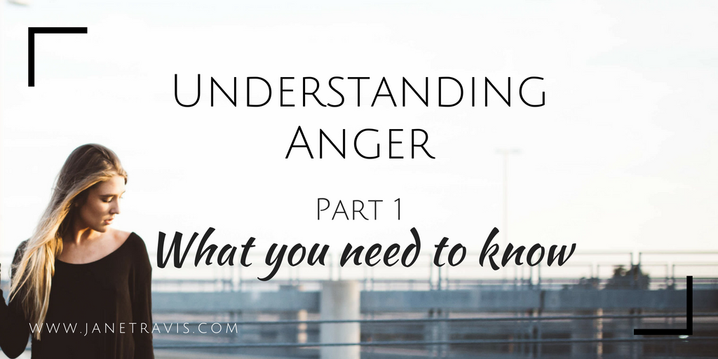 Understanding Anger Part 1 What You Need To Know - Jane Travis