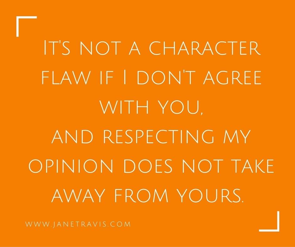 Opinions - Jane Travis